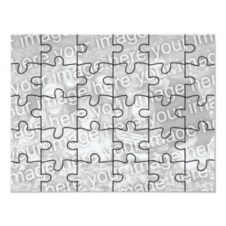 """Kundengerechtes Foto-""""Spott-"""" Puzzlespiel Card-30  Einladungen"""