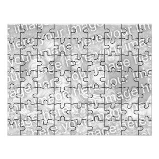 Kundengerechtes Foto- Spott- Puzzlespiel Card-63 Individuelle Ankündigung