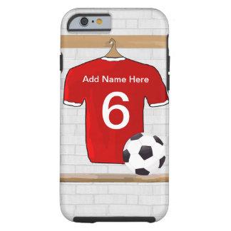 Kundengerechtes Fußball-Shirt Tough iPhone 6 Hülle