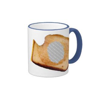 Kundengerechtes gegrilltes Käse-Sandwich Ringer Tasse
