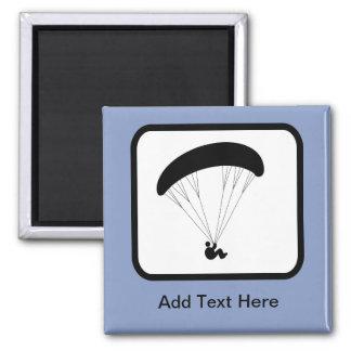 Kundengerechtes Gleitschirm-Logo Magnets