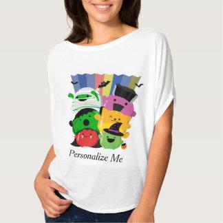 Kundengerechtes Halloween - niedliche Mochi T-Shirt