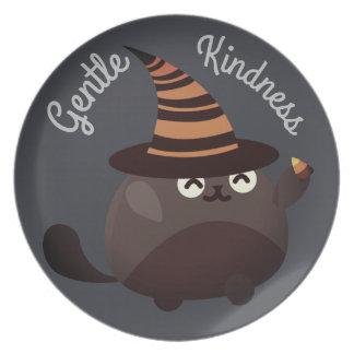 Kundengerechtes Halloween - Piraten-Mut Melaminteller