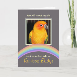 Customizable Rainbow Bridge Pet Memorial
