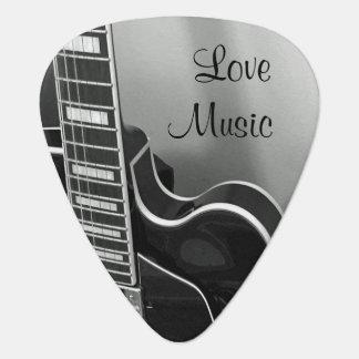 Kundengerechtes Liebe-Musik-Plektrum Plektrum