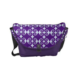 Kundengerechtes Locken-Muster Kurier Taschen