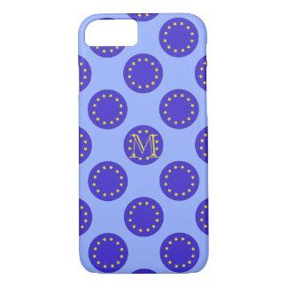 Kundengerechtes Monogramm EU/Brexit iPhone 7/8 iPhone 8/7 Hülle