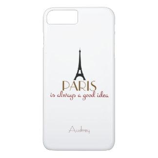 Kundengerechtes Paris ist immer eine gute Idee iPhone 8 Plus/7 Plus Hülle