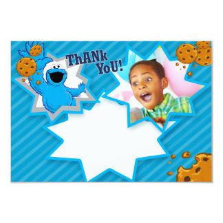 Kundengerechtes Plätzchen-Monster danken Ihnen 8,9 X 12,7 Cm Einladungskarte