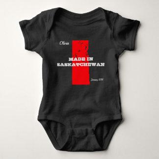 Kundengerechtes Rot gemacht im Saskatchewa Baby Strampler