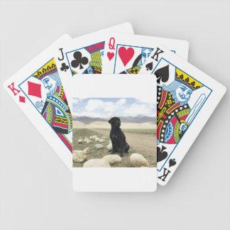 Kundengerechtes schwarzes Labrador retriever Bicycle Spielkarten