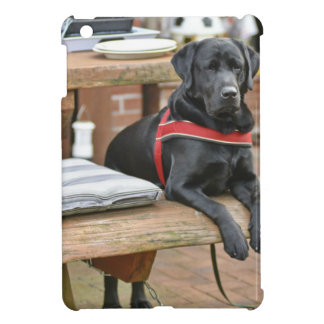 Kundengerechtes schwarzes Labrador retriever iPad Mini Hülle