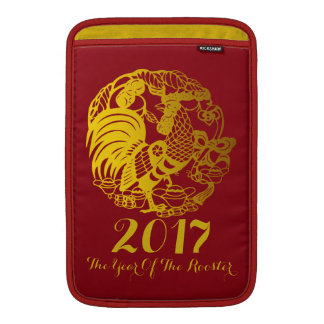 Kundengerechtes Tierkreis-Hahn-Jahr 2017 MacBook Sleeve