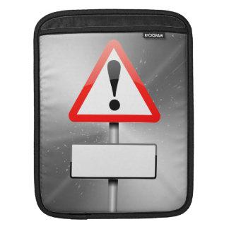 Kundengerechtes Warnzeichen Sleeve Für iPads