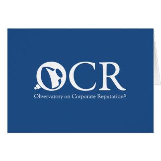 Kundenspezifische Anmerkungs-Karte OCRs Karte