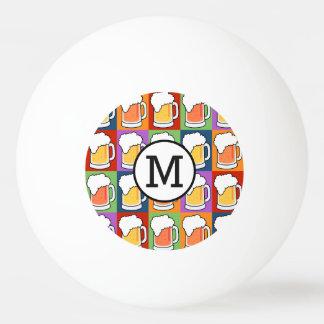 Kundenspezifische Bälle pong Ping Monogramm der Tischtennis Ball