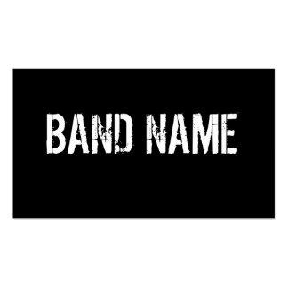 Kundenspezifische Band-Visitenkarte Visitenkarten