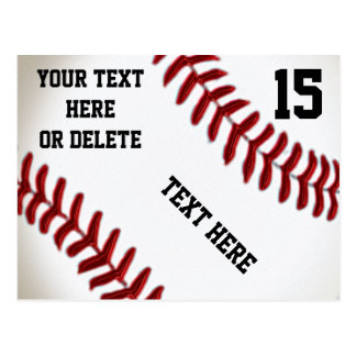 Kundenspezifische Baseball-Postkarten mit 4 Postkarte