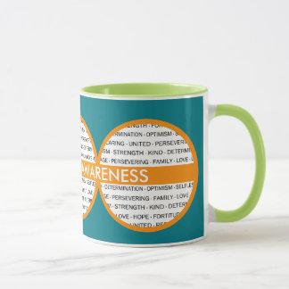 Kundenspezifische Bewusstseins-Tasse (schließen Tasse