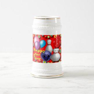 Kundenspezifische Bowlings-Tassen Bierkrug