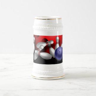 Kundenspezifische Bowlings-Tassengeschenke Bierglas