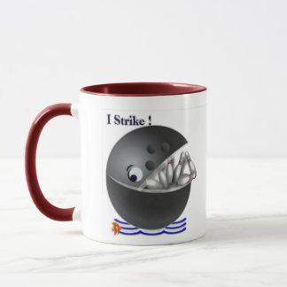 Kundenspezifische Bowlings-Tassengeschenke Tasse