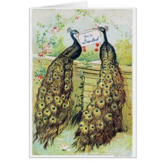 Kundenspezifische Brautdusche-c$ashley Mitteilungskarte