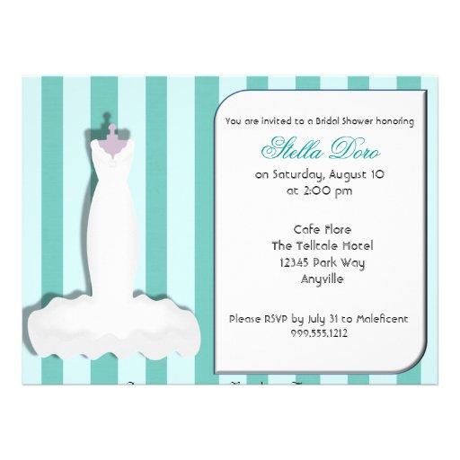 Kundenspezifische Brautparty-Einladungen