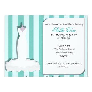 Kundenspezifische Brautparty-Einladungen 16,5 X 22,2 Cm Einladungskarte