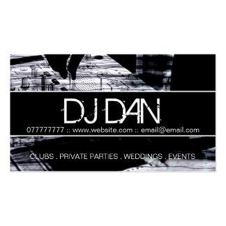 Kundenspezifische DJ-Visitenkarten Visitenkarten