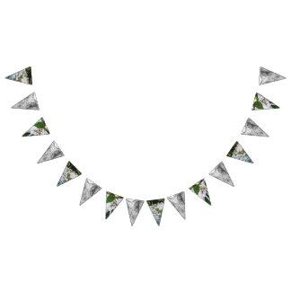 Kundenspezifische Dreieck-Hochzeits-Flaggen-Fahne Wimpelketten