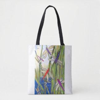 Kundenspezifische Druck-Libellen-Taschen-Tasche Tasche