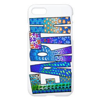 Kundenspezifische Erdgraphik auf iPhone 7 glattem iPhone 8/7 Hülle