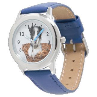 Kundenspezifische Familienhaustieruhr Uhr