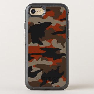 Kundenspezifische Farborange OtterBox Symmetry iPhone 7 Hülle