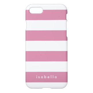 Kundenspezifische Farbstreifen iPhone 7 Hülle