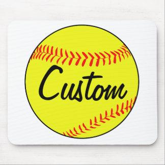 Kundenspezifische Fastpitch Softball-Mausunterlage Mauspads