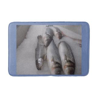 Kundenspezifische Fisch-mittlere Bad-Matte Badematte