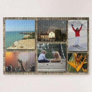 Kundenspezifische Foto-Collage Puzzle