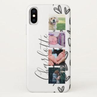 Kundenspezifische Foto-Collagen-kundengerechte iPhone X Hülle
