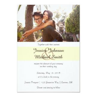 Kundenspezifische Foto-Hochzeit Karte