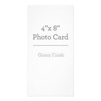 Kundenspezifische Foto-Karten-Schablone Karte