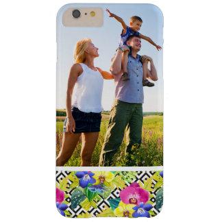 Kundenspezifische Foto-Orchideen-Begonie und Barely There iPhone 6 Plus Hülle