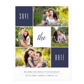 Kundenspezifische Foto-Save the Date Postkarte der
