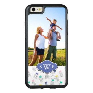 Kundenspezifische Foto-u. Monogramm-abstrakte OtterBox iPhone 6/6s Plus Hülle