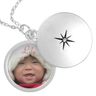 Kundenspezifische Fotolocket-Halskette