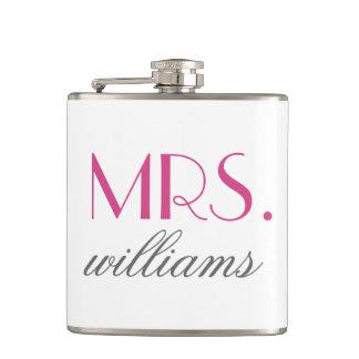 Kundenspezifische Frau Wedding Flask |