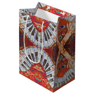 Kundenspezifische Geschenk-Tasche des Klavier-R4 - Mittlere Geschenktüte