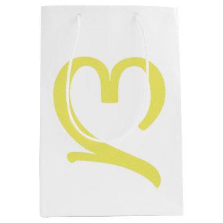 Kundenspezifische Geschenk-Tasche - Medium, glatt, Mittlere Geschenktüte