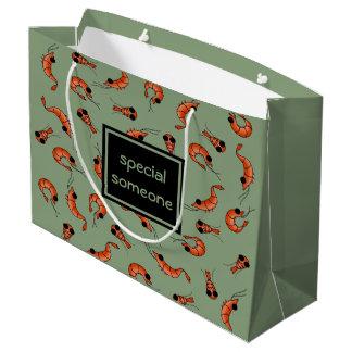 Kundenspezifische Geschenktasche der lustigen Große Geschenktüte